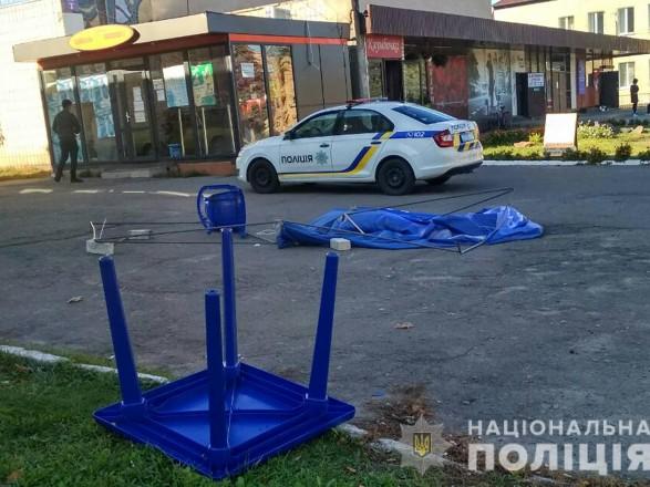У Чернігівській області біля агітаційного намету сталася стрілянина