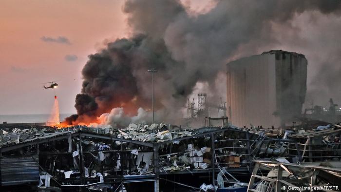 Вибух у Бейруті: 100 загиблих, майже чотири тисячі поранених (відео)