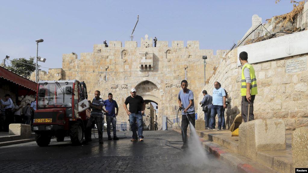 Напад на офіцера МАГАВ в Старому місті